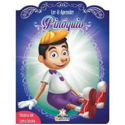 Ler&AprenderPinoquioCapa